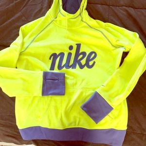 Women's NIKE hooded sweatshirt LARGE